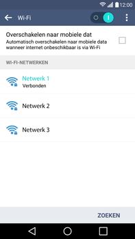 LG H815 G4 - Wifi - handmatig instellen - Stap 8
