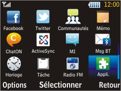 Samsung S3570 Chat 357 - Wifi - configuration manuelle - Étape 2