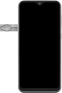 Samsung Galaxy A20e - Device - Insert SIM card - Step 2