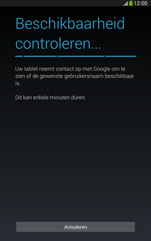 Samsung T315 Galaxy Tab 3 8-0 LTE - Applicaties - Account aanmaken - Stap 9