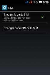 Alcatel OT-4015X Pop C1 - Sécuriser votre mobile - Personnaliser le code PIN de votre carte SIM - Étape 7