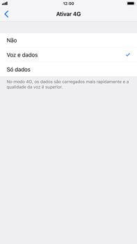 Apple iPhone 7 Plus - iOS 12 - Internet no telemóvel - Como ativar 4G -  7