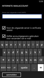 Nokia Lumia 1320 - E-mail - Handmatig instellen - Stap 15