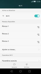 Huawei Ascend G7 - Wifi - configuration manuelle - Étape 5