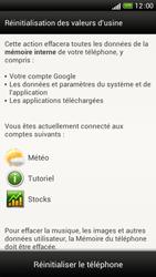 HTC One S - Aller plus loin - Restaurer les paramètres d'usines - Étape 6