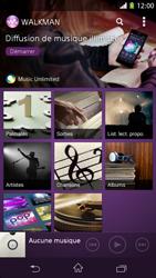Sony Xpéria M2 - Photos, vidéos, musique - Ecouter de la musique - Étape 4