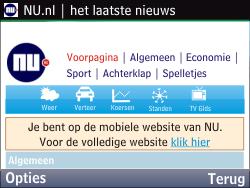 Nokia Asha 201 - Internet - hoe te internetten - Stap 17