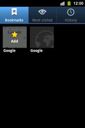 Samsung S5830i Galaxy Ace i - Internet - Internet browsing - Step 7