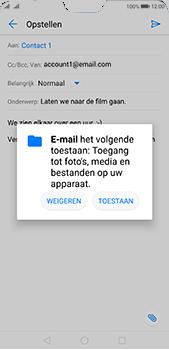 Huawei P20 Pro - E-mail - e-mail versturen - Stap 10
