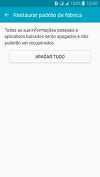 Samsung Galaxy J3 Duos - Funções básicas - Como restaurar as configurações originais do seu aparelho - Etapa 7