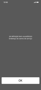 Apple iPhone XR - SMS - Como configurar o centro de mensagens -  6