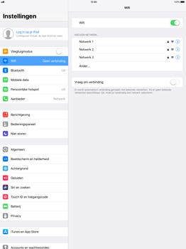 Apple iPad Pro 12.9 - iOS 11 - WiFi - Verbinden met een netwerk - Stap 5