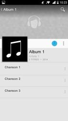 Bouygues Telecom Ultym 5 - Photos, vidéos, musique - Ecouter de la musique - Étape 8