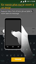Alcatel U5 - Contact, Appels, SMS/MMS - Envoyer un SMS - Étape 6