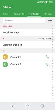 LG Q6 (LG M700n) - Contacten en data - Contacten kopiëren van toestel naar SIM - Stap 5