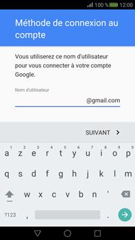 Huawei Mate S - Applications - Créer un compte - Étape 9