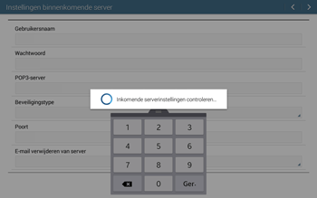 Samsung T535 Galaxy Tab 4 10-1 - E-mail - Account instellen (POP3 zonder SMTP-verificatie) - Stap 11