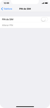 Apple iPhone X - iOS 12 - Segurança - Como ativar o código PIN do cartão de telemóvel -  5