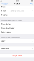 Apple iPhone 6s - iOS 12 - Email - Configurar a conta de Email -  22