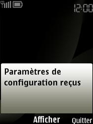 Nokia 6303 classic - MMS - configuration automatique - Étape 5