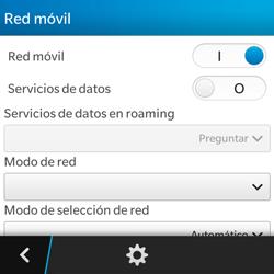 BlackBerry Q5 - Internet - Activar o desactivar la conexión de datos - Paso 7
