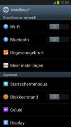 Samsung I9305 Galaxy S III LTE - WiFi - Verbinden met een netwerk - Stap 4