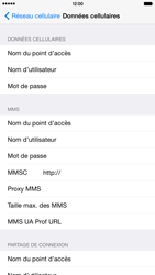 Apple iPhone 6 Plus iOS 8 - Internet - Configuration manuelle - Étape 7
