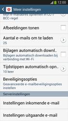 Samsung I8190 Galaxy S III Mini - E-mail - Instellingen KPNMail controleren - Stap 25