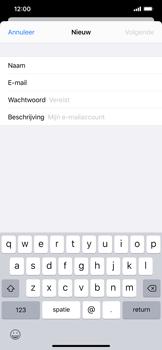 Apple iphone-xs-max-met-ios-13-model-a1921 - E-mail - Handmatig instellen - Stap 9