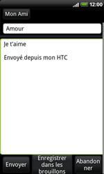 HTC A8181 Desire - E-mail - Envoi d