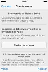 Apple iPhone 4S iOS 7 - Aplicaciones - Tienda de aplicaciones - Paso 10
