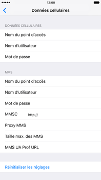 Apple Apple iPhone 6s Plus iOS 10 - Internet - Configuration manuelle - Étape 7