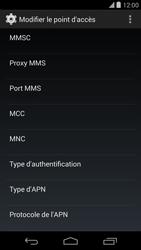LG D821 Google Nexus 5 - MMS - configuration manuelle - Étape 15
