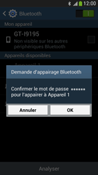 Samsung I9195 Galaxy S IV Mini LTE - Bluetooth - connexion Bluetooth - Étape 9