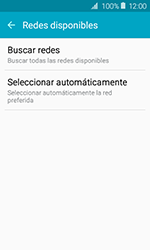 Samsung Galaxy J1 (2016) (J120) - Red - Seleccionar una red - Paso 6