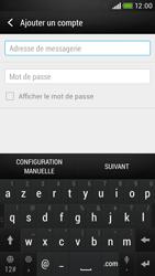 HTC Desire 601 - E-mail - Configuration manuelle - Étape 6