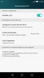Huawei P8 Lite - Internet et connexion - Partager votre connexion en Wi-Fi - Étape 10