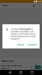 LG X Power - Mms - Envoi d