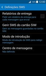 Samsung Galaxy Trend 2 Lite - SMS - Como configurar o centro de mensagens -  7