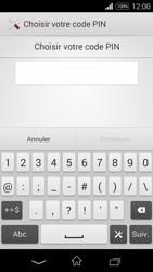 Sony Xpéria E3 - Sécuriser votre mobile - Activer le code de verrouillage - Étape 7