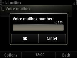 Nokia E6-00 - Voicemail - Manual configuration - Step 6
