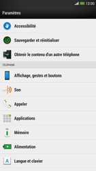 HTC One Max - Messagerie vocale - configuration manuelle - Étape 5