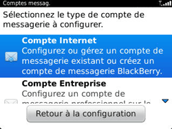 BlackBerry 9320 Curve - E-mail - Configuration manuelle - Étape 5