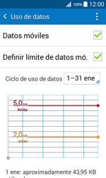 Samsung Galaxy Core Prime - Internet - Ver uso de datos - Paso 10