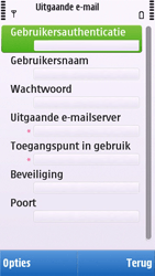 Nokia C6-00 - E-mail - e-mail instellen: POP3 - Stap 19