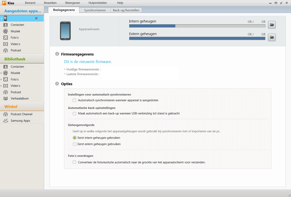 Samsung I9070 Galaxy S Advance - Software - Installeer firmware update - Stap 4