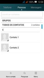Huawei Y3 - Chamadas - Como bloquear chamadas de um número específico - Etapa 4