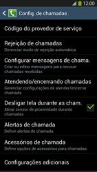 Samsung I9500 Galaxy S IV - Chamadas - Como bloquear chamadas de um número específico - Etapa 6