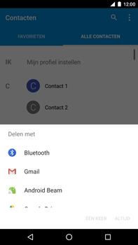 Huawei Google Nexus 6P - Contactgegevens overzetten - delen via Bluetooth - Stap 7