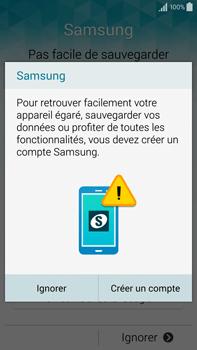 Samsung Galaxy Note 4 - Premiers pas - Créer un compte - Étape 27